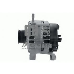 Lichtmaschine Rippenanzahl: 6 mit OEM-Nummer 5 0037 1244
