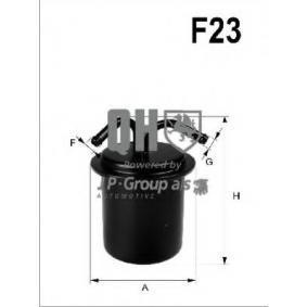 Kraftstofffilter Höhe: 121mm mit OEM-Nummer 42072-AA010