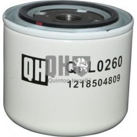 Ölfilter Höhe: 86mm mit OEM-Nummer 418 432