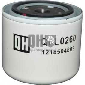 Ölfilter Höhe: 86mm mit OEM-Nummer 3517857