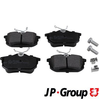 JP GROUP  6163700110 Bremsbelagsatz, Scheibenbremse Dicke/Stärke: 15,3mm