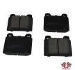 OEM Bremsbelagsatz, Scheibenbremse JP GROUP 8163601019 für ALFA ROMEO