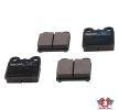OEM Bremsbelagsatz, Scheibenbremse JP GROUP 8163601119 für SAAB