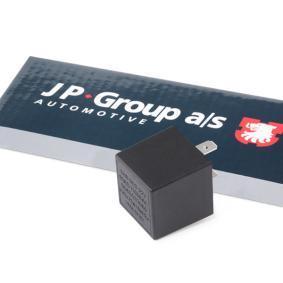 JP GROUP Warnblinkrelais 8199200400 für AUDI 90 (89, 89Q, 8A, B3) 2.2 E quattro ab Baujahr 04.1987, 136 PS