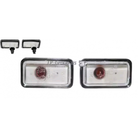 JP GROUP Blinkleuchtensatz 9895500910 für AUDI 80 (81, 85, B2) 1.8 GTE quattro (85Q) ab Baujahr 03.1985, 110 PS