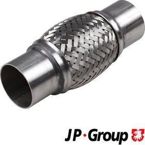 Touran 1T1, 1T2 1.9TDI Flexrohr JP GROUP 9924402000 (1.9TDI Diesel 2006 BXE)
