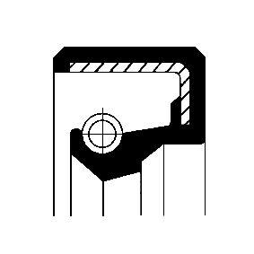 Tätningsring med OEM Koder 17025
