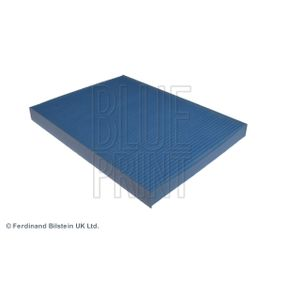 Filter, interior air Length: 273mm, Width: 207,0mm, Height: 26mm with OEM Number 1H0819644
