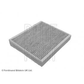 Filter, Innenraumluft Länge: 241,5mm, Breite: 211,5mm, Höhe: 34mm mit OEM-Nummer 1808 527