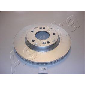 Bremsscheibe Bremsscheibendicke: 26mm, Ø: 279,8mm mit OEM-Nummer 51712 2C000