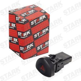 Warnblinkschalter SKSH-2080002 CLIO 2 (BB0/1/2, CB0/1/2) 1.5 dCi Bj 2014