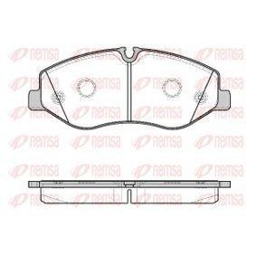 Bremsbelagsatz, Scheibenbremse Höhe: 75mm, Dicke/Stärke: 20,8mm mit OEM-Nummer A 447 420 0020