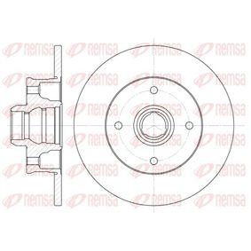 Bremsscheibe Bremsscheibendicke: 10mm, Lochanzahl: 4, Ø: 226mm, Ø: 226mm mit OEM-Nummer 6N0.615.601
