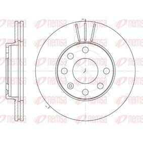 Bremsscheibe Bremsscheibendicke: 20mm, Lochanzahl: 6, Ø: 236mm, Ø: 236mm mit OEM-Nummer 569014