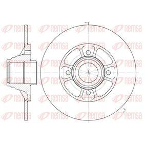 Bremsscheibe Bremsscheibendicke: 8mm, Lochanzahl: 4, Ø: 238mm mit OEM-Nummer 77.00.805.148