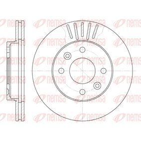 Bremsscheibe 6080.10 CLIO 2 (BB0/1/2, CB0/1/2) 1.5 dCi Bj 2012