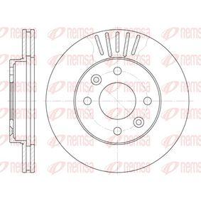 Bremsscheibe Bremsscheibendicke: 20mm, Lochanzahl: 4, Ø: 238mm, Ø: 238mm mit OEM-Nummer 77012-04286
