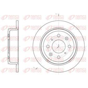 Спирачен диск дебелина на спирачния диск: 10мм, брой на дупките: 4, Ø: 239мм, Ø: 239мм с ОЕМ-номер 42510-SK3-E00