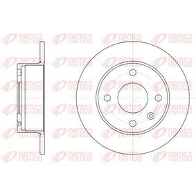 Bremsscheibe Bremsscheibendicke: 10mm, Lochanzahl: 4, Ø: 239,5mm mit OEM-Nummer 1629 478