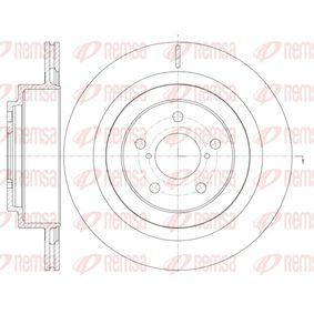 Bremsscheibe Bremsscheibendicke: 18mm, Lochanzahl: 5, Ø: 289,8mm mit OEM-Nummer 26700AE081