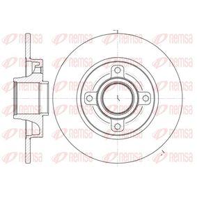 Disco de travão Espessura do disco de travão: 9mm, N.º de furos: 4, Ø: 249mm, Ø: 249mm com códigos OEM 424934