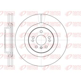 Спирачен диск 61030.10 M-класа (W164) ML 320 CDI 3.0 4-matic (164.122) Г.П. 2006