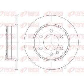 REMSA  61035.00 Bremsscheibe Bremsscheibendicke: 16mm, Lochanzahl: 6, Ø: 298mm