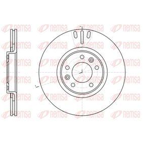 Bremsscheibe Bremsscheibendicke: 22mm, Lochanzahl: 5, Ø: 301,7mm, Ø: 301,7mm mit OEM-Nummer 4249-11