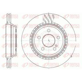 REMSA  61072.10 Bremsscheibe Bremsscheibendicke: 22mm, Lochanzahl: 5, Ø: 300mm