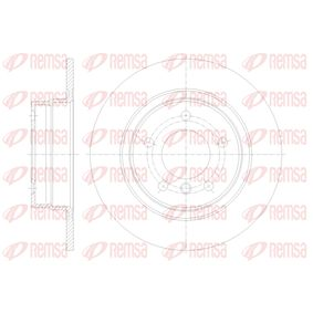Brake Disc 61084.00 3 Saloon (E90) 318i 2.0 MY 2008