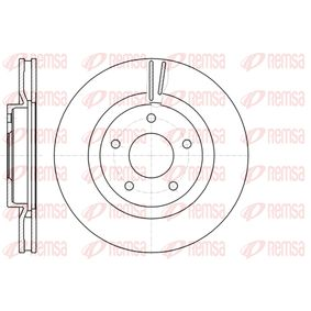 Bremsscheibe Bremsscheibendicke: 26mm, Lochanzahl: 5, Ø: 295,8mm mit OEM-Nummer 40206 -JD00A
