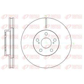 Disque de frein Epaisseur du disque de frein: 25mm, Nbre de trous: 5, Ø: 275mm avec OEM numéro 43512 20 710