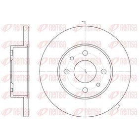 Bremsscheibe Bremsscheibendicke: 12mm, Lochanzahl: 4, Ø: 240mm mit OEM-Nummer 71738423