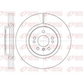 Спирачен диск 61165.10 M-класа (W164) ML 320 CDI 3.0 4-matic (164.122) Г.П. 2009