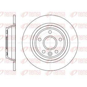 Bremsscheibe Bremsscheibendicke: 11mm, Lochanzahl: 5, Ø: 301,7mm, Ø: 301,7mm mit OEM-Nummer LR-027123
