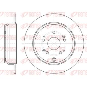 Disco de freno 61174.00 CR-V 4 (RM_) 2.2 i-DTEC AWD (RE6) ac 2015