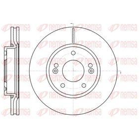 Bremsscheibe Bremsscheibendicke: 26mm, Lochanzahl: 5, Ø: 280mm, Ø: 280mm mit OEM-Nummer 517122C000