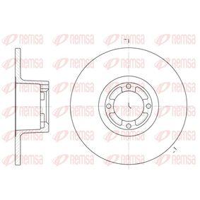 Bremsscheibe Bremsscheibendicke: 9,5mm, Lochanzahl: 4, Ø: 213mm mit OEM-Nummer GBD 806