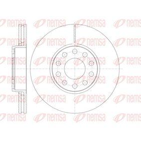 Bremsscheibe Bremsscheibendicke: 25mm, Lochanzahl: 10, Ø: 288mm mit OEM-Nummer 4B0 615 301 B