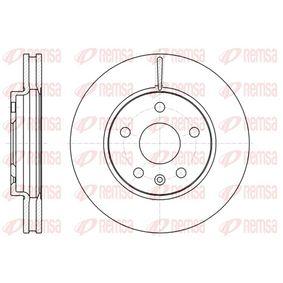 Bremsscheibe Bremsscheibendicke: 30mm, Lochanzahl: 5, Ø: 296mm mit OEM-Nummer 13 502 213