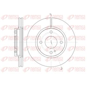 Brake Disc Brake Disc Thickness: 23mm, Num. of holes: 4, Ø: 257,9mm, Ø: 257,9mm with OEM Number 1546835