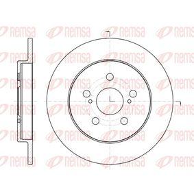 Bremsscheibe Bremsscheibendicke: 9mm, Lochanzahl: 5, Ø: 259mm, Ø: 259mm mit OEM-Nummer 42431-12310