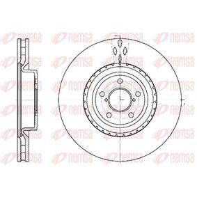 Bremsscheibe Bremsscheibendicke: 30mm, Lochanzahl: 5, Ø: 326mm mit OEM-Nummer 26300-FE000