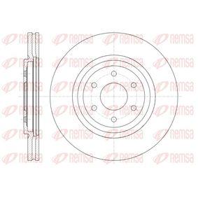Bremsscheibe Bremsscheibendicke: 28mm, Lochanzahl: 6, Ø: 319,5mm, Ø: 319,5mm mit OEM-Nummer 40206 3X00B