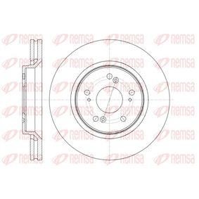 Brake Disc Brake Disc Thickness: 28mm, Num. of holes: 5, Ø: 292,9mm, Ø: 292,9mm with OEM Number 45251SWWG01