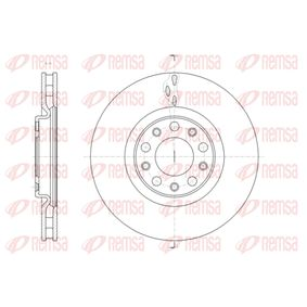 Bremsscheibe Bremsscheibendicke: 28mm, Lochanzahl: 5, Ø: 305,3mm mit OEM-Nummer 517 67 381