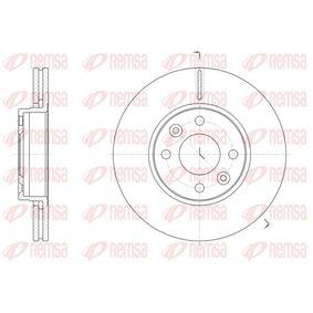 Brake Disc 61474.10 Clio 4 (BH_) 1.2 TCe 120 MY 2021