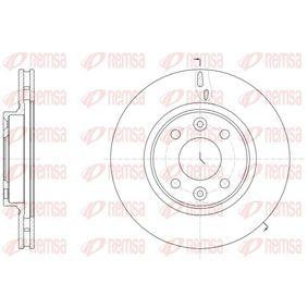 Brake Disc Brake Disc Thickness: 22mm, Num. of holes: 4, Ø: 258mm, Ø: 258mm with OEM Number 402062212R