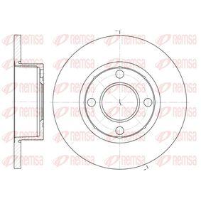 Bremsscheibe Bremsscheibendicke: 13mm, Lochanzahl: 4, Ø: 256mm, Ø: 256mm mit OEM-Nummer 895 615 301