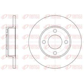 Bremsscheibe Bremsscheibendicke: 13mm, Lochanzahl: 4, Ø: 256mm mit OEM-Nummer 431 615 301